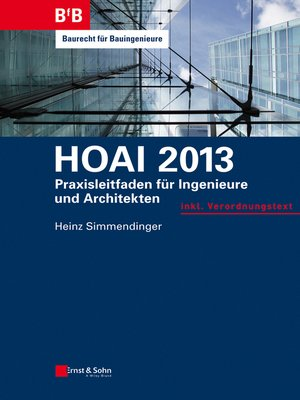 cover image of HOAI 2013