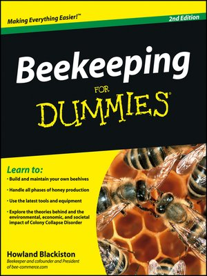 cover image of Beekeeping For Dummies®