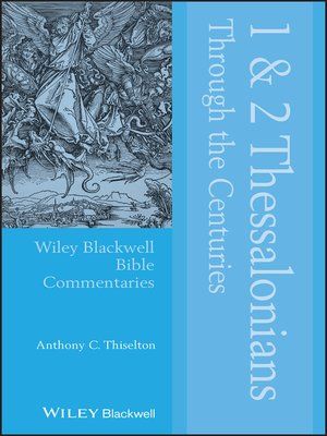 cover image of 1 & 2 Thessalonians Through the Centuries