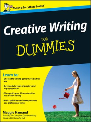 cover image of Creative Writing For Dummies, UK Edition