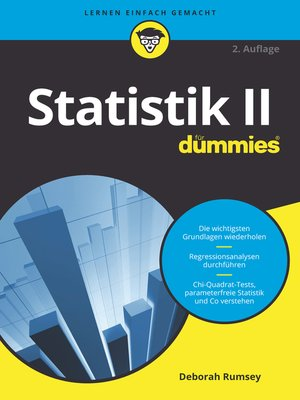 cover image of Statistik II für Dummies
