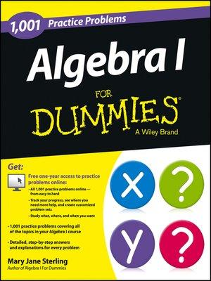 cover image of Algebra I