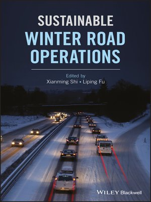 cover image of Sustainable Winter Road Operations