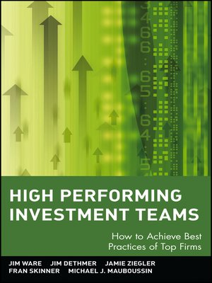 cover image of High Performing Investment Teams