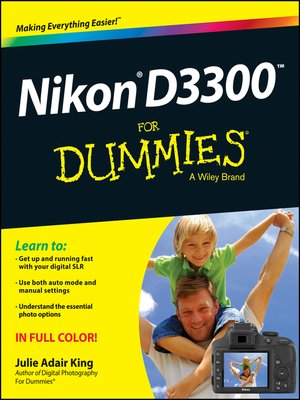 cover image of Nikon D3300 For Dummies