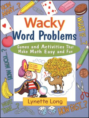 cover image of Wacky Word Problems