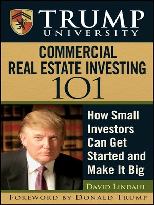 cover image of Trump University Commercial Real Estate 101