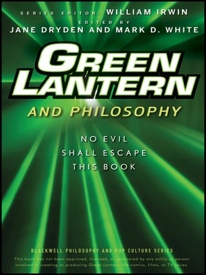 cover image of Green Lantern and Philosophy