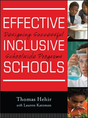cover image of Effective Inclusive Schools