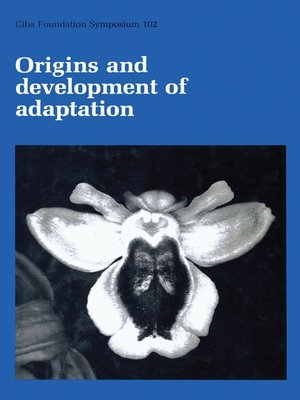 cover image of Origins and Development of Adaptation