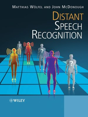 cover image of Distant Speech Recognition