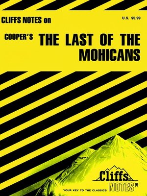 cover image of CliffsNotes on Copper's The Last of the Mohicans