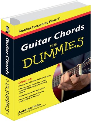 cover image of Guitar Chords for Dummies
