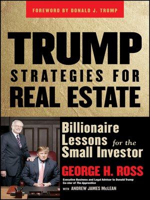cover image of Trump Strategies for Real Estate