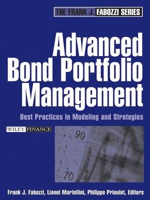 cover image of Advanced Bond Portfolio Management