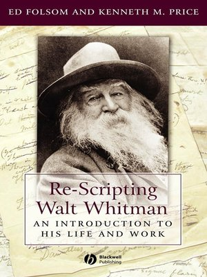 cover image of Re-Scripting Walt Whitman