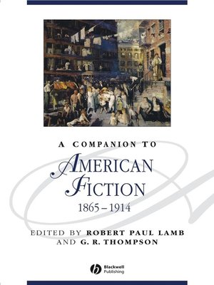 cover image of A Companion to American Fiction 1865-1914