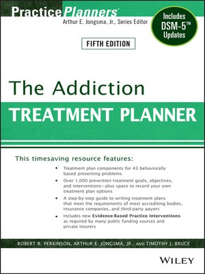cover image of The Addiction Treatment Planner