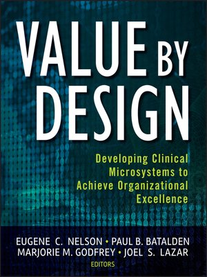 cover image of Value by Design