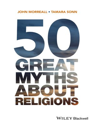 cover image of 50 Great Myths About Religions