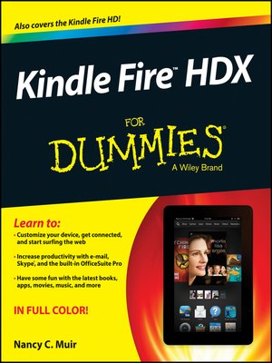 cover image of Kindle Fire HDX For Dummies