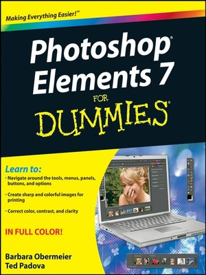 cover image of Photoshop Elements 7 For Dummies