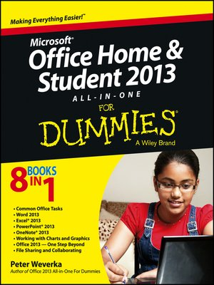 cover image of Microsoft Office Home and Student Edition 2013 All-in-One For Dummies