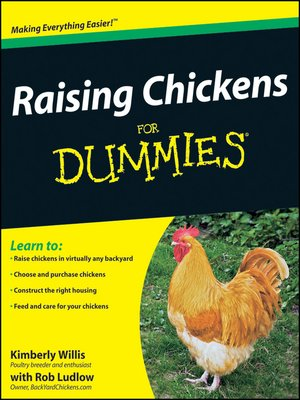 cover image of Raising Chickens For Dummies