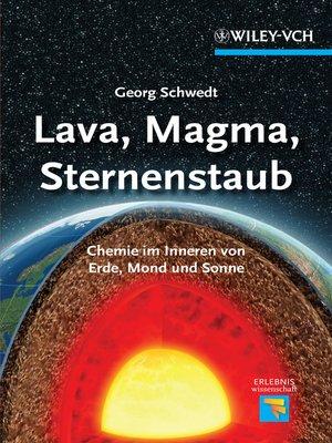 cover image of Lava, Magma, Sternenstaub