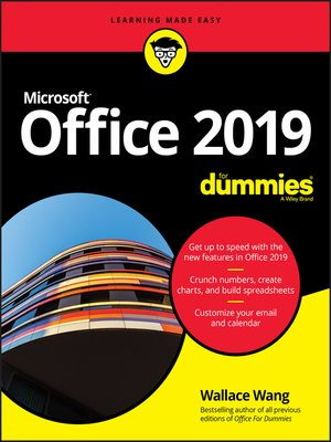 cover image of Office 2019 For Dummies