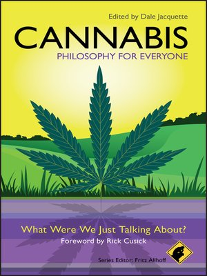 cover image of Cannabis--Philosophy for Everyone