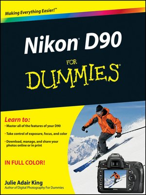 cover image of Nikon D90 For Dummies®