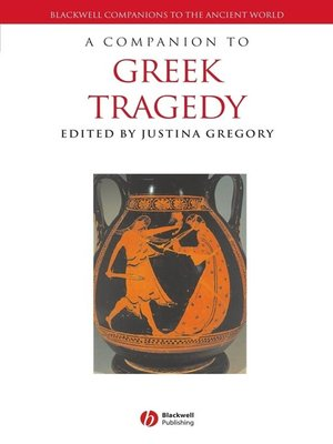 cover image of A Companion to Greek Tragedy