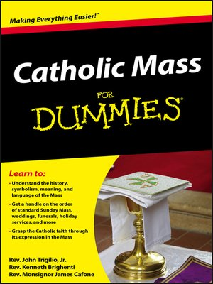 cover image of Catholic Mass For Dummies