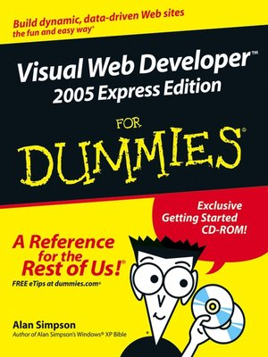 cover image of Visual Web Developer 2005 Express Edition For Dummies