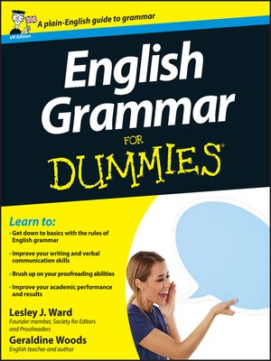 cover image of English Grammar For Dummies
