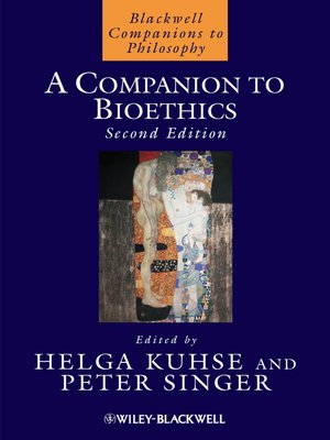 cover image of A Companion to Bioethics
