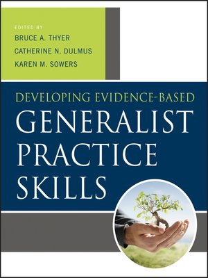 cover image of Developing Evidence-Based Generalist Practice Skills