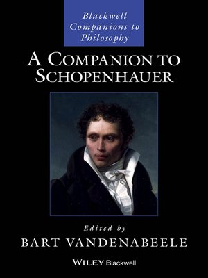 cover image of A Companion to Schopenhauer