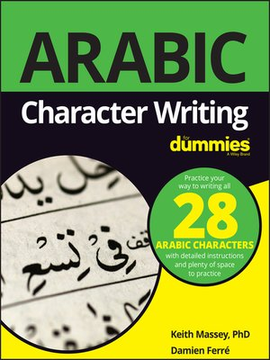 cover image of Arabic Character Writing For Dummies