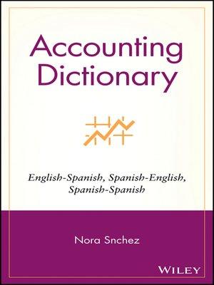 accounting dictionary spanish english