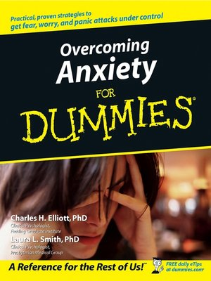cover image of Overcoming Anxiety For Dummies