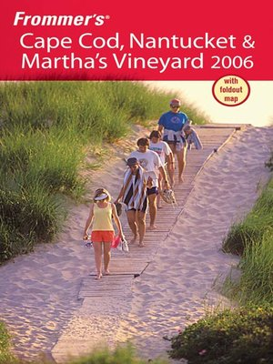 cover image of Frommer's Cape Cod, Nantucket & Martha's Vineyard 2006