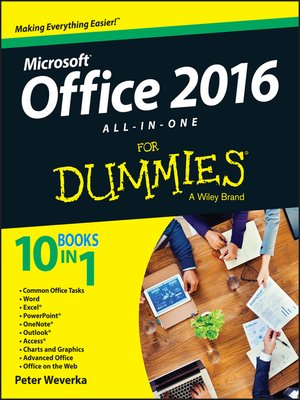 cover image of Office 2016 All-In-One For Dummies