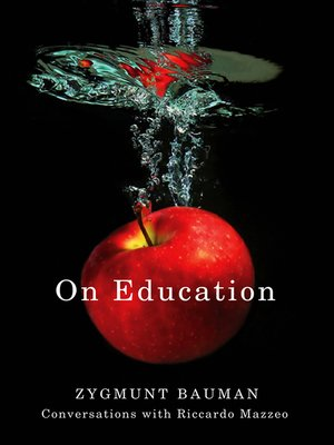 cover image of On Education