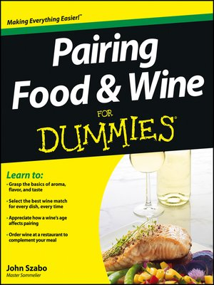 cover image of Pairing Food and Wine For Dummies