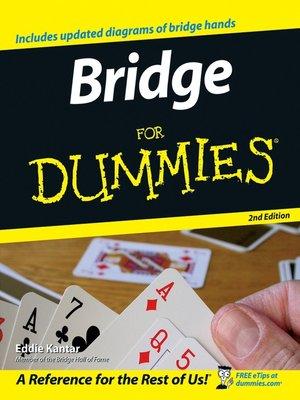 cover image of Bridge For Dummies