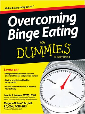 cover image of Overcoming Binge Eating For Dummies