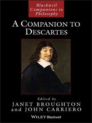 cover image of A Companion to Descartes