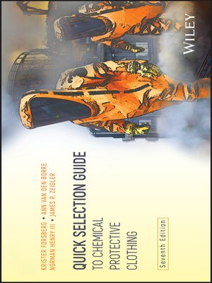 cover image of Quick Selection Guide to Chemical Protective Clothing
